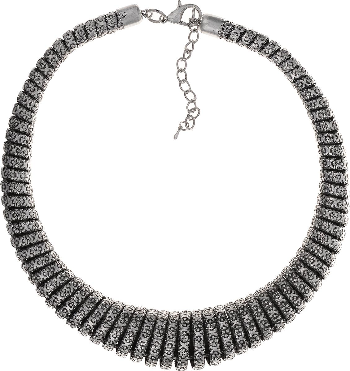 """Колье """"Франческа"""". Ювелирный сплав, оксидированное серебро. Nina Ford, Испания"""