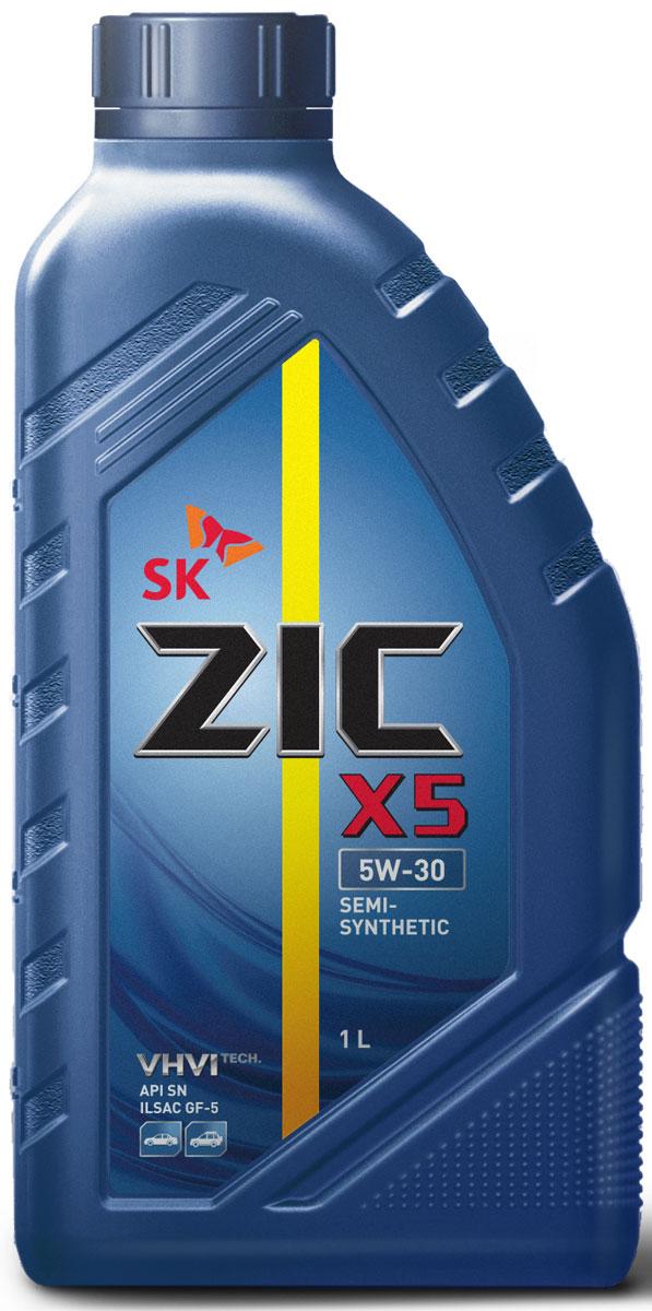Масло моторное ZIC X5, полусинтетическое, класс вязкости 5W-30, API SN, 1 л. 132621132621Всесезонное полусинтетическое моторное масло ZIC X5 предназначено для бензиновых двигателей и обеспечивает надежную защиту. Изготовлено на основе базового масла YUBASE и сбалансированного пакета современных присадок. Плотность при 15°C: 0,8467 г/см3. Температура вспышки: 230°С. Температура застывания: -42,5°С. Индекс вязкости: 170.