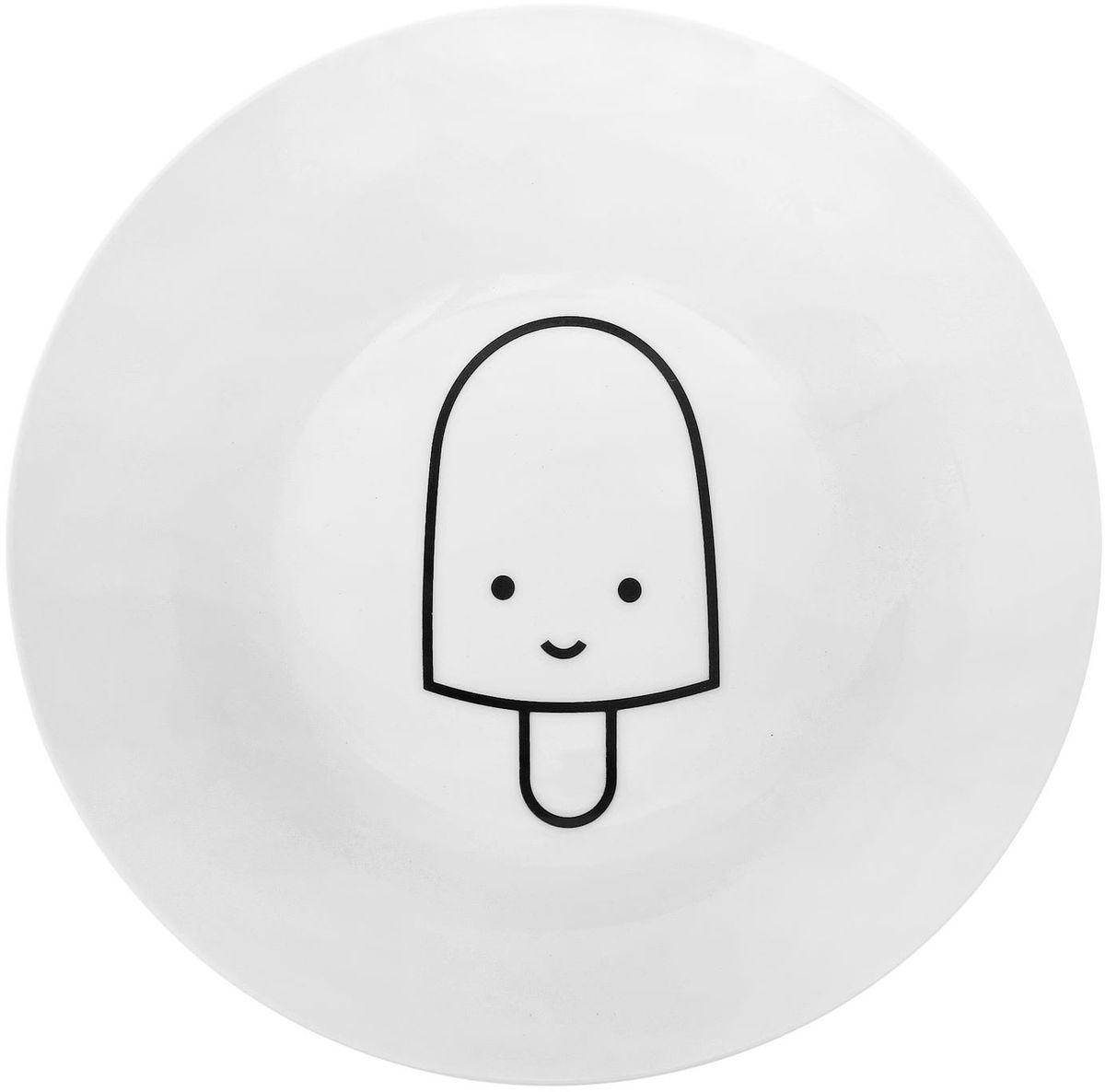 Тарелка глубокая Сотвори чудо My Little Ice Cream, диаметр 20 см1661804Хотите обновить интерьер кухни или гостиной? Устраиваете необычную фотосессию или тематический праздник? А может, просто ищете подарок для близкого человека? Посуда « Сотвори Чудо» — правильный выбор в любой ситуации. Её достоинства: изящный фаянс нежного сливочного цвета; стойкость краски; пригодность для посудомоечных машин.