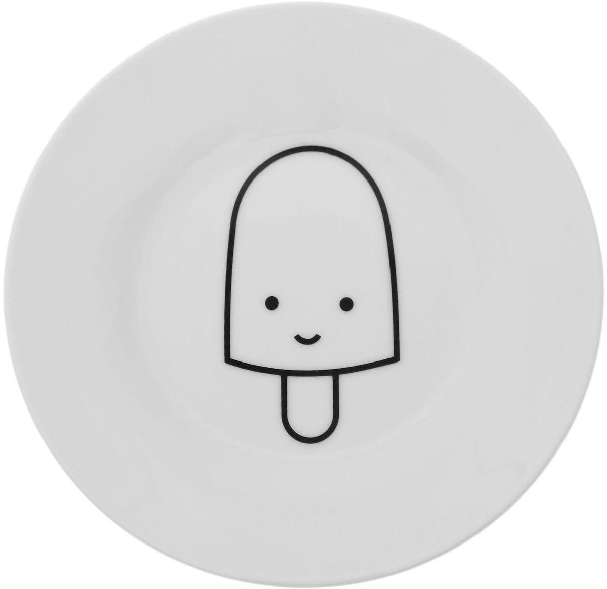 Тарелка мелкая Сотвори чудо My Little Ice Cream, диаметр 15,5 см1661822Хотите обновить интерьер кухни или гостиной? Устраиваете необычную фотосессию или тематический праздник? А может, просто ищете подарок для близкого человека? Посуда « Сотвори Чудо» — правильный выбор в любой ситуации. Её достоинства: изящный фаянс нежного сливочного цвета; стойкость краски; пригодность для посудомоечных машин.