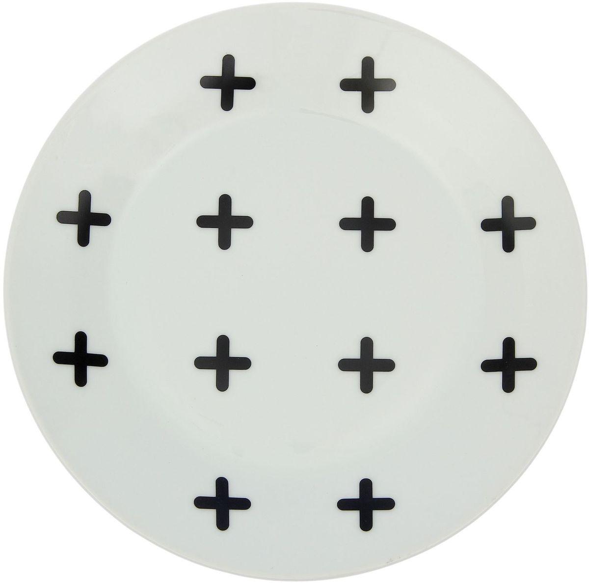 Тарелка мелкая Сотвори чудо My Little Cross, диаметр 20 см1971988Хотите обновить интерьер кухни или гостиной? Устраиваете необычную фотосессию или тематический праздник? А может, просто ищете подарок для близкого человека? Посуда « Сотвори Чудо» — правильный выбор в любой ситуации. Её достоинства: изящный фаянс нежного сливочного цвета; стойкость краски; пригодность для посудомоечных машин.