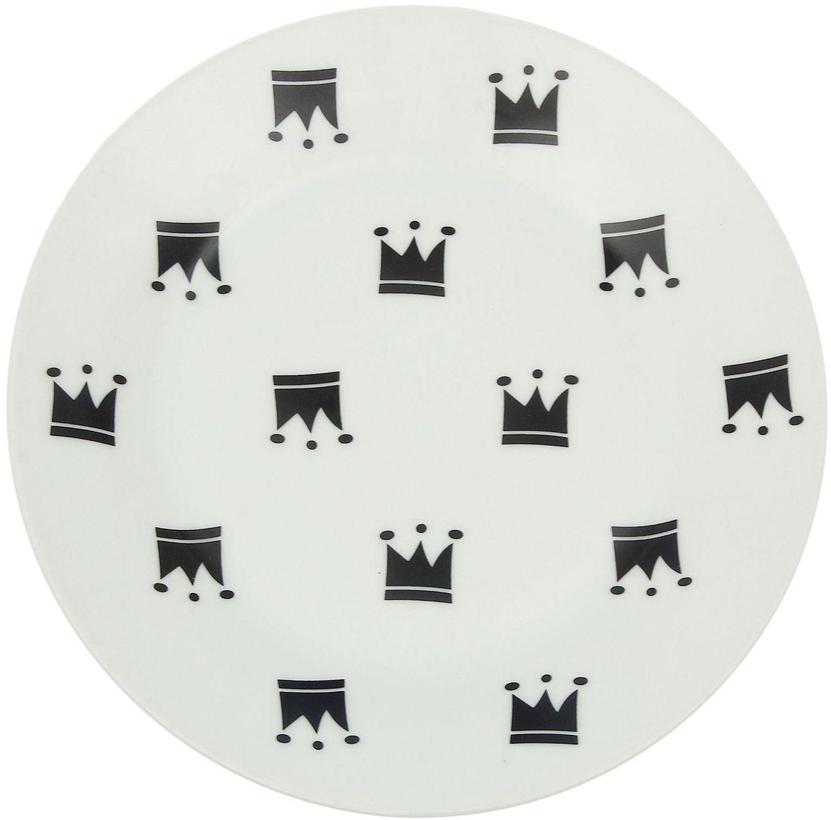 Тарелка мелкая Сотвори чудо My Little Crown, диаметр 20 см1971989Хотите обновить интерьер кухни или гостиной? Устраиваете необычную фотосессию или тематический праздник? А может, просто ищете подарок для близкого человека? Посуда « Сотвори Чудо» — правильный выбор в любой ситуации. Её достоинства: изящный фаянс нежного сливочного цвета; стойкость краски; пригодность для посудомоечных машин.