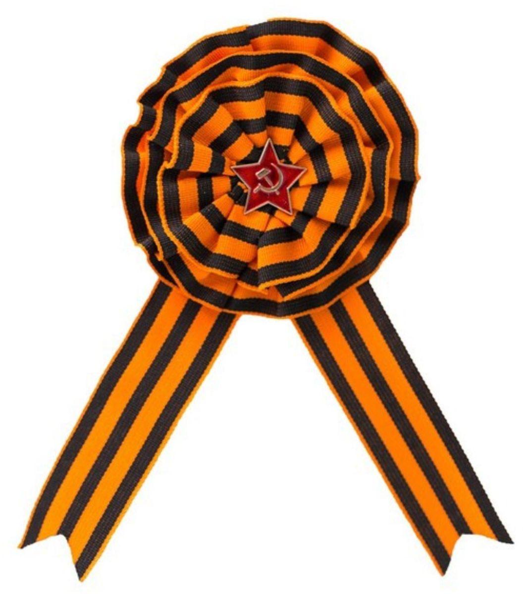 Брошь Бока 9 Мая. 22275972227597Чёрно-оранжевая лента — неизменный атрибут Дня Победы. Такое сочетание цветов использовалось для высших воинских наград, вручаемых за личную храбрость. 9 Мая прикрепите брошь на одежду: этот символ на вашей груди напомнит о доблести солдат и подвигах, совершённых на полях сражений. Такой аксессуар прослужит вам не один год. Брошь на булавке.