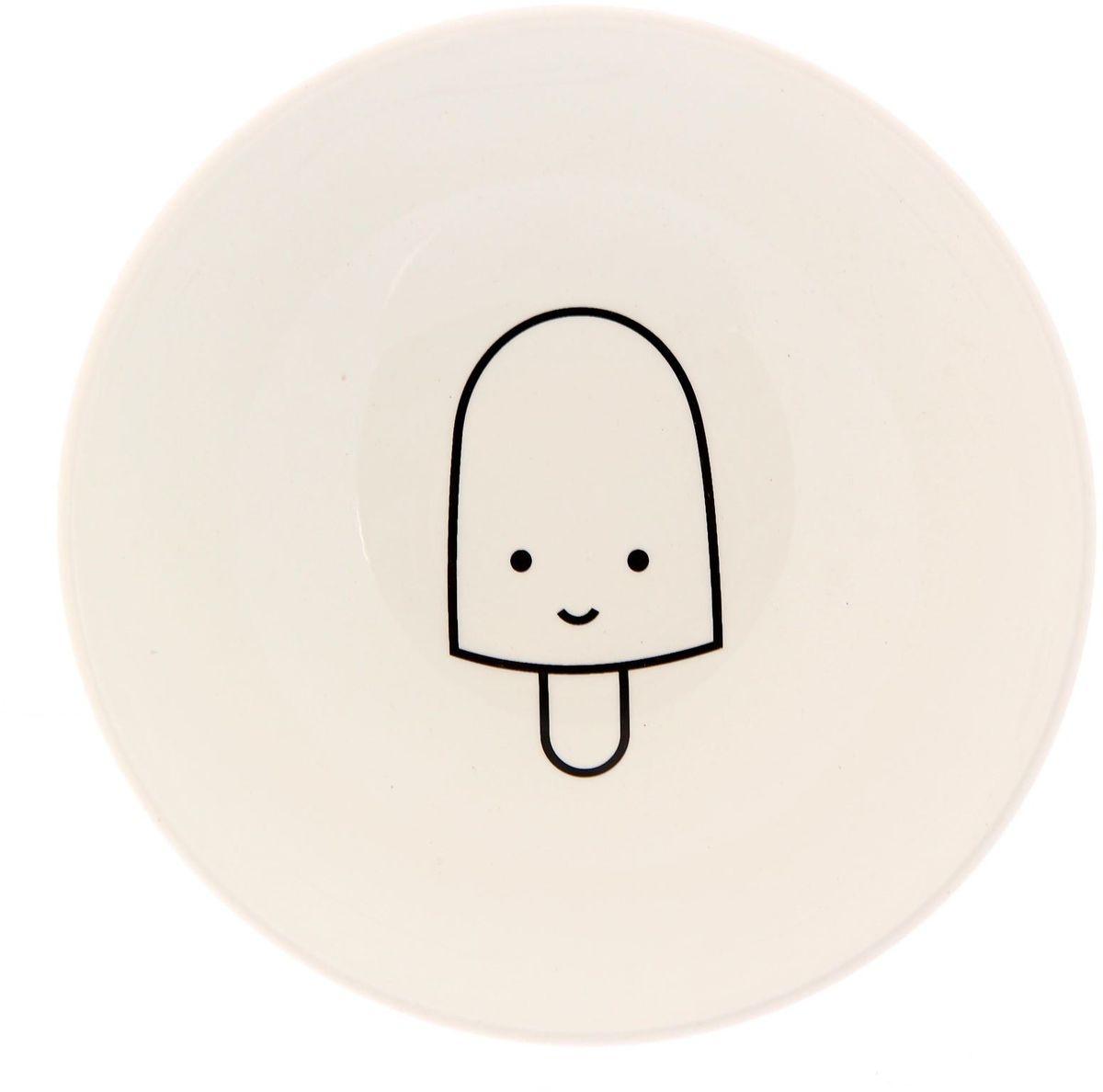 Салатник Сотвори чудо My Little Ice Cream, диаметр 16,5 см2277845Хотите обновить интерьер кухни или гостиной? Устраиваете необычную фотосессию или тематический праздник? А может, просто ищете подарок для близкого человека? Посуда « Сотвори Чудо» — правильный выбор в любой ситуации. Её достоинства: изящный фаянс нежного сливочного цвета; стойкость краски; пригодность для посудомоечных машин.
