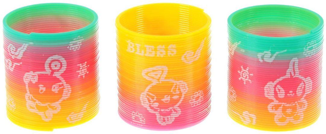 Sima-land Антистрессовая игрушка Пружинка-радуга Девочка 320359