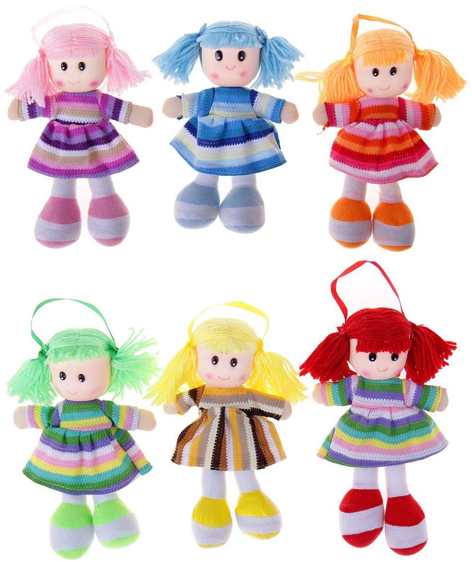 Sima-land Мягкая кукла в вязаном платье 324819