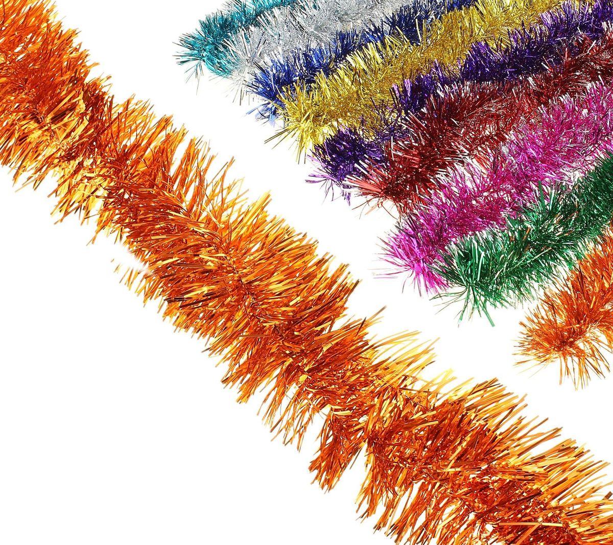 Мишура новогодняя Sima-land, цвет: красный, серебристый, диаметр 4 см, длина 1,3 м. 701305701305_красный, серебристыйМишура новогодняя Sima-land, выполненная из двухцветной фольги, поможет вам украсить свой дом к предстоящим праздникам. Мишура армирована, то есть имеет проволоку внутри и способна сохранять приданную ей форму. Новогодняя елка с таким украшением станет еще наряднее. Новогодней мишурой можно украсить все, что угодно - елку, квартиру, дачу, офис - как внутри, так и снаружи. Можно сложить новогодние поздравления, буквы и цифры, мишурой можно украсить и дополнить гирлянды, можно выделить дверные колонны, оплести дверные проемы. Коллекция декоративных украшений из серии Зимнее волшебство принесет в ваш дом ни с чем несравнимое ощущение праздника! Создайте в своем доме атмосферу тепла, веселья и радости, украшая его всей семьей.