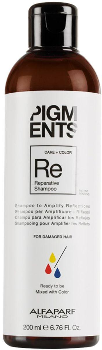 Alfaparf Pigments Hydrating Shampoo Шампунь увлажняющий для слегка сухих волос, 200 мл14095Мягкий шампунь предназначен для увлажнения нормальных и слегка сухих волос. Специально разработанная формула поддерживает цвет и гарантирует стабильность пигмента в смеси. Входящие в состав активные ингредиенты обладают запечатывающим действием, благодаря чему создается защитная сетка, которая обволакивает волос, помогая сохранить правильный баланс влаги. Волосы мгновенно становятся блестящими, легкими и шелковистыми. БЕЗ СУЛЬФАТОВ И ПАРАБЕНОВ Объем: 200 мл