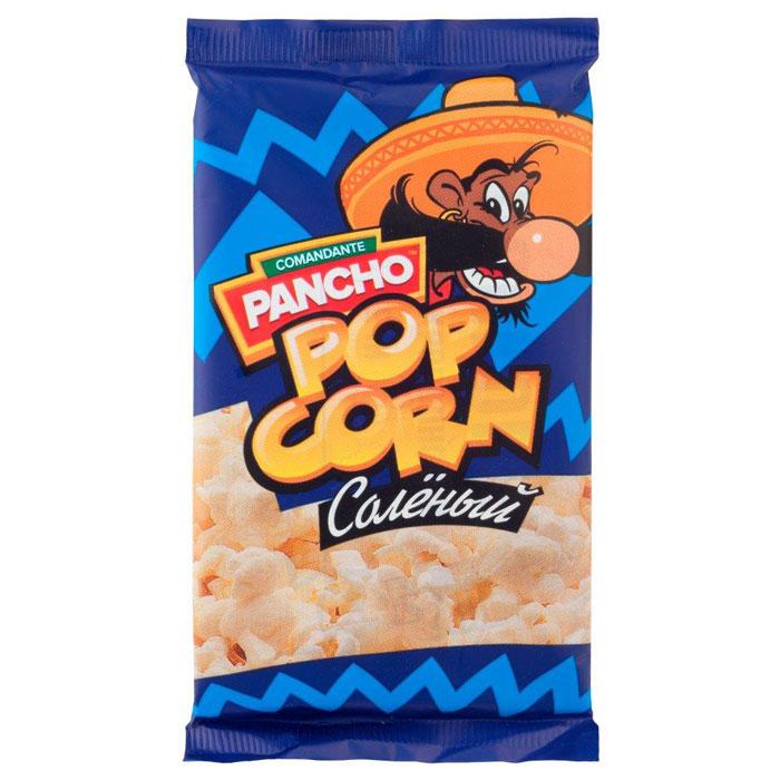 Команданте Панчо Соленый попкорн для микроволновой печи, 65 г Н00003937