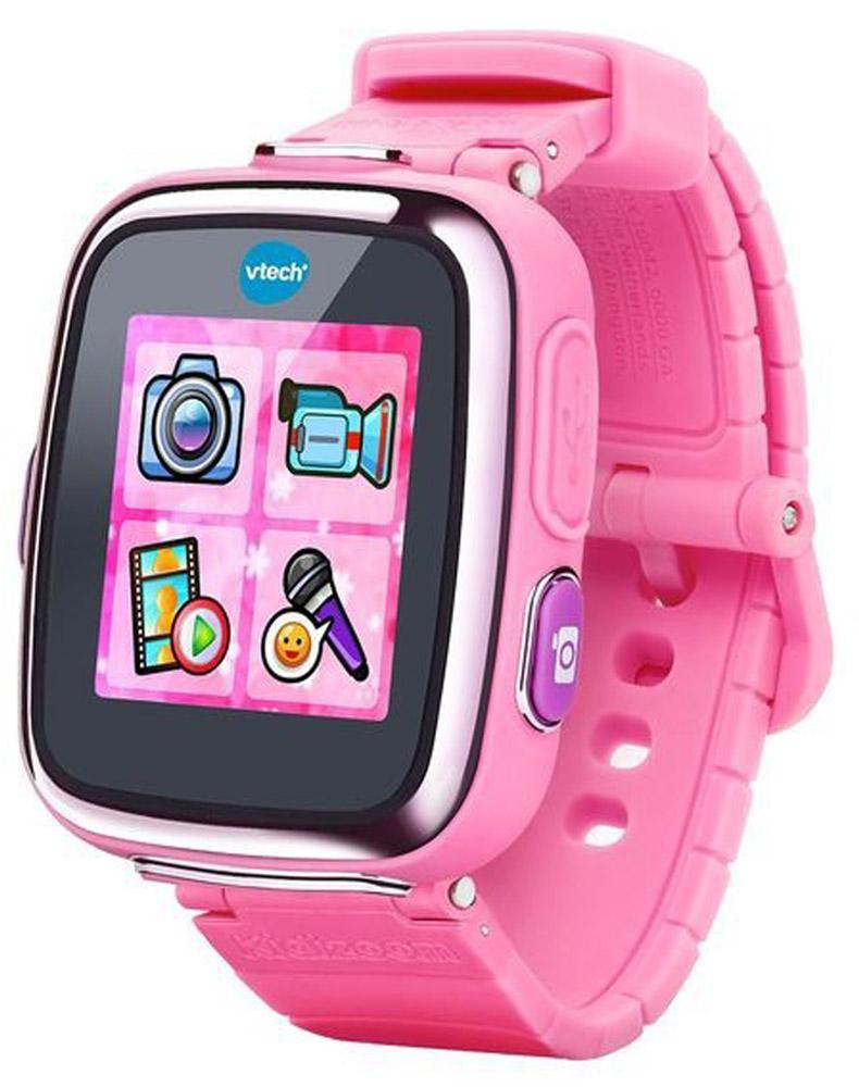 Vtech Детские наручные часы Kidizoom SmartWatch DX цвет розовый 80-171610