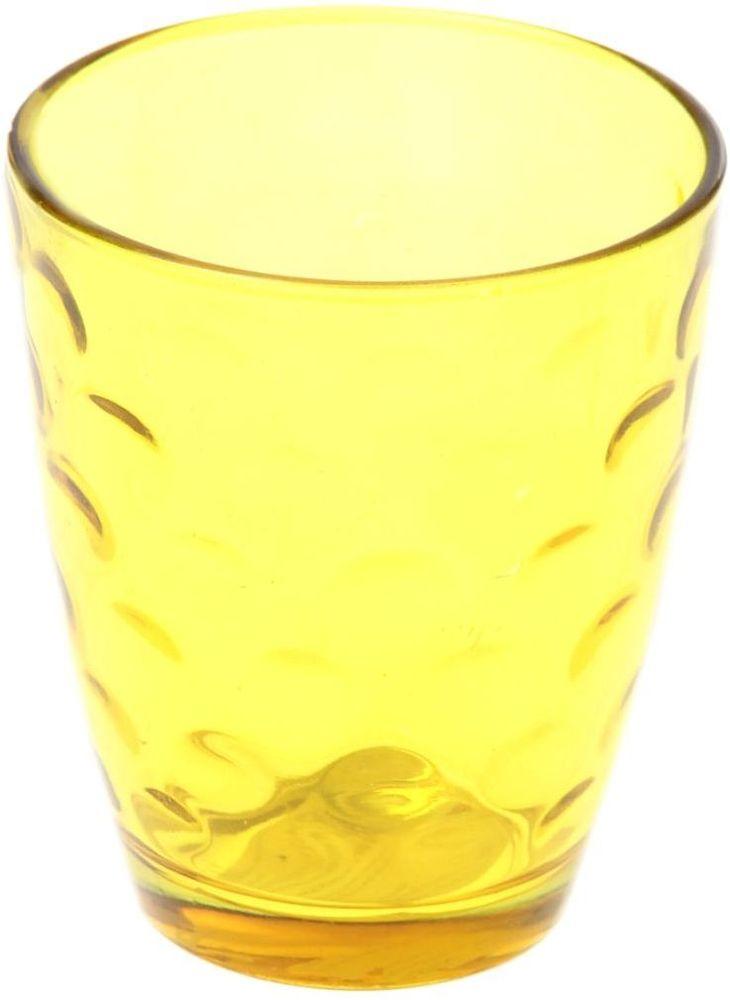 Стакан Доляна Венский вальс, цвет: желтый, 400 мл335168Стеклянные изделия серии «Венский вальс» подходят для повседневного использования. Стакан из стекла, окрашенного в яркий цвет методом напыления, порадует каждого ценителя оригинальности. Достоинства: оригинальный дизайн делает предметы украшением интерьера; материал не впитывает запахов; поверхность легко отмывается. Чтобы предметы радовали внешним видом как можно дольше, соблюдайте правила ухода: мойте только вручную; избегайте использования высокоабразивных средств и металлических губок; не допускайте падений и ударов. Окружайте себя красивой посудой и будьте в хорошем настроении!