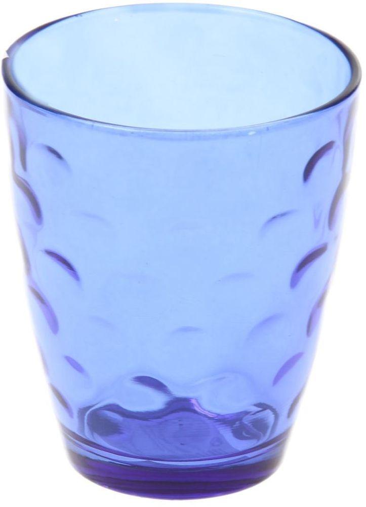 Стакан Доляна Венский вальс, цвет: синий, 400 мл335171Стеклянные изделия серии «Венский вальс» подходят для повседневного использования. Стакан из стекла, окрашенного в яркий цвет методом напыления, порадует каждого ценителя оригинальности. Достоинства: оригинальный дизайн делает предметы украшением интерьера; материал не впитывает запахов; поверхность легко отмывается. Чтобы предметы радовали внешним видом как можно дольше, соблюдайте правила ухода: мойте только вручную; избегайте использования высокоабразивных средств и металлических губок; не допускайте падений и ударов. Окружайте себя красивой посудой и будьте в хорошем настроении!