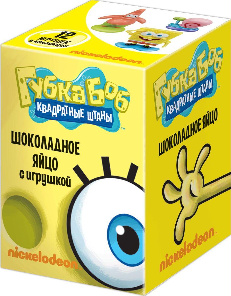 """Конфитрейд """"Sponge Bob"""" молочный шоколад с сюрпризом, 20 г УТ12891"""