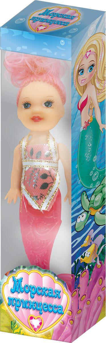 Очаровашка Морская фея фруктовый мармелад с игрушкой, 10 гУТ18523Кукла-русалочка, высотой 12 см, весом 5 г, драже в прозрачном герметичном пакетике в коробочке с окошком.