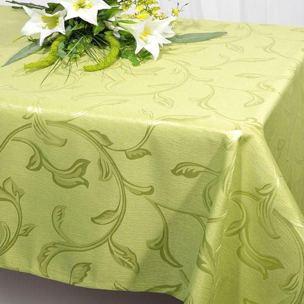 Скатерть Schaefer, прямоугольная, цвет: салатовый, 160 x 220 см. 07245-40807245-408Прямоугольная скатерть Schaefer, выполненная из полиэстера с оригинальным рисунком, станет изысканным украшением кухонного стола. За текстилем из полиэстера очень легко ухаживать: он не мнется, не садится и быстро сохнет, легко стирается, более долговечен, чем текстиль из натуральных волокон. Использование такой скатерти сделает застолье торжественным, поднимет настроение гостей и приятно удивит их вашим изысканным вкусом. Также вы можете использовать эту скатерть для повседневной трапезы, превратив каждый прием пищи в волшебный праздник и веселье. Это текстильное изделие станет изысканным украшением вашего дома!
