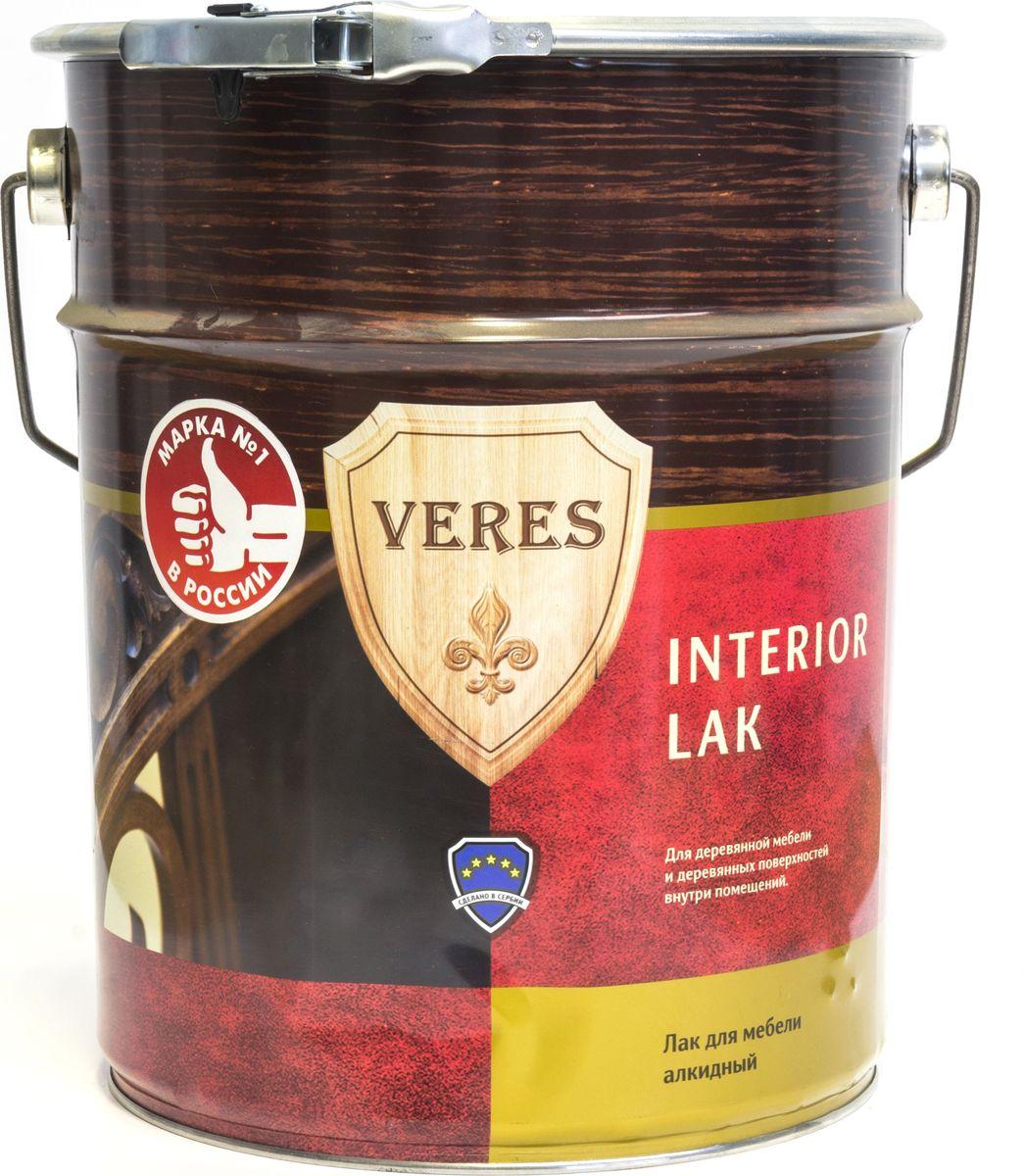 """Лак алкидный интерьерный """"Veres"""", полуматовый, 10 л"""