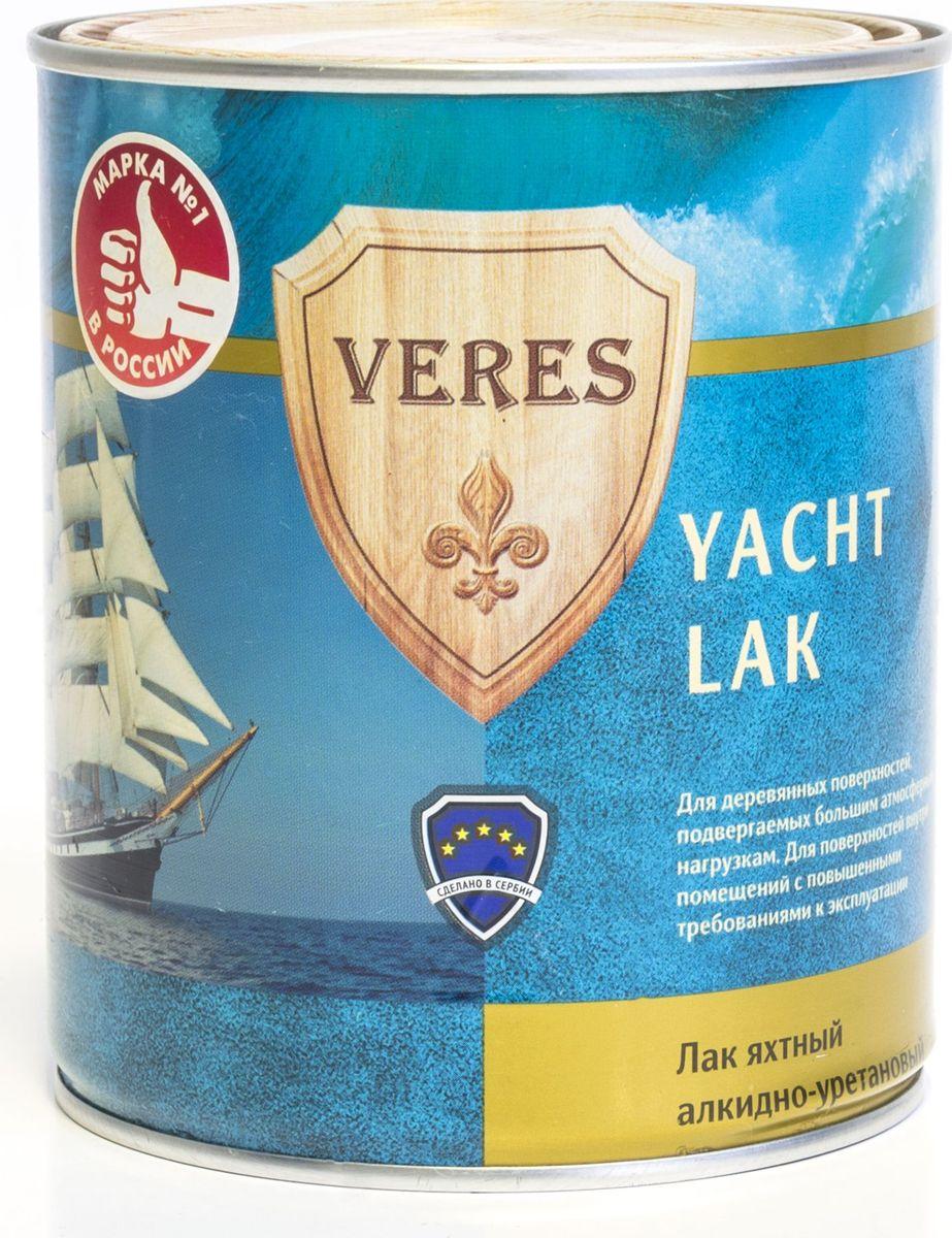 """Лак алкидный яхтный """"Veres"""", полуматовый, 0,75 л"""
