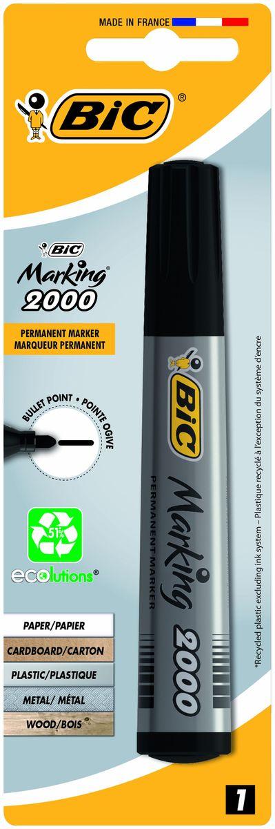 Bic Маркер перманентный Marking 2000 цвет черный B8755761