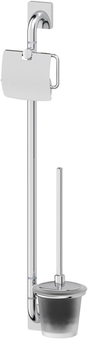Штанга комбинированная для туалета Ellux Avantgarde, цвет: хром. AVA 074AVA 074Аксессуары торговой марки Ellux производятся на заводе ELLUX Gluck s.r.o., имеющем 20-летний опыт работы. Предприятие расположено в Злинском крае, исторически знаменитом своим промышленным потенциалом. Компоненты из всемирно известного богемского хрусталя выгодно дополняют серии аксессуаров. Широкий ассортимент, разнообразие форм, высочайшее качество исполнения и техническое?совершенство продукции отвечают самым высоким требованиям. Продукция завода Ellux представлена на российском рынке уже более 10 лет и за это время успела завоевать заслуженную популярность у покупателей, отдающих предпочтение дорогой и качественной продукции. 100% made in Czech Republic Весь цикл производства изделий осуществляется на территории Чешской республики. Высококачественная латунь, используемая в производстве аксессуаров, позволяет добиваться идеального результата в готовом изделии. Варианты комплектации. Покупателям предоставляется возможность выбирать хрустальные компоненты (стакан,...