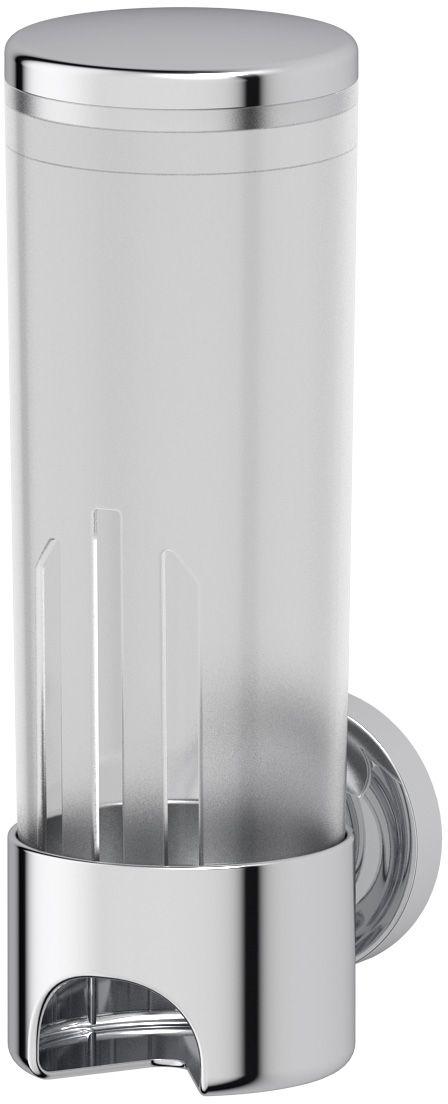 Контейнер для косметических дисков Ellux Elegance, цвет: хром. ELE 060ELE 060Аксессуары торговой марки Ellux производятся на заводе ELLUX Gluck s.r.o., имеющем 20-летний опыт работы. Предприятие расположено в Злинском крае, исторически знаменитом своим промышленным потенциалом. Компоненты из всемирно известного богемского хрусталя выгодно дополняют серии аксессуаров. Широкий ассортимент, разнообразие форм, высочайшее качество исполнения и техническое?совершенство продукции отвечают самым высоким требованиям. Продукция завода Ellux представлена на российском рынке уже более 10 лет и за это время успела завоевать заслуженную популярность у покупателей, отдающих предпочтение дорогой и качественной продукции. 100% made in Czech Republic Весь цикл производства изделий осуществляется на территории Чешской республики. Высококачественная латунь — дорогостоящий многокомпонентный медный сплав с основным легирующим элементом – цинком. Обладает высокой прочностью и коррозионной стойкостью. Считается лучшим материалом для изготовления аксессуаров, смесителей и...