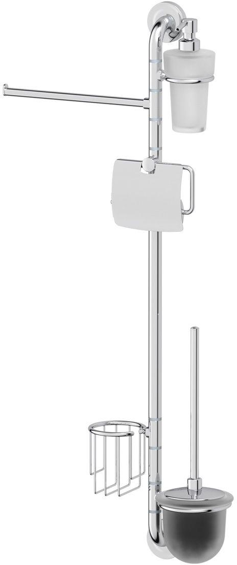 Штанга комбинированная для туалета с биде Ellux Elegance, цвет: хром. ELE 076ELE 076Аксессуары торговой марки Ellux производятся на заводе ELLUX Gluck s.r.o., имеющем 20-летний опыт работы. Предприятие расположено в Злинском крае, исторически знаменитом своим промышленным потенциалом. Компоненты из всемирно известного богемского хрусталя выгодно дополняют серии аксессуаров. Широкий ассортимент, разнообразие форм, высочайшее качество исполнения и техническое?совершенство продукции отвечают самым высоким требованиям. Продукция завода Ellux представлена на российском рынке уже более 10 лет и за это время успела завоевать заслуженную популярность у покупателей, отдающих предпочтение дорогой и качественной продукции. 100% made in Czech Republic Весь цикл производства изделий осуществляется на территории Чешской республики. Высококачественная латунь, используемая в производстве аксессуаров, позволяет добиваться идеального результата в готовом изделии. Варианты комплектации. Покупателям предоставляется возможность выбирать хрустальные компоненты (стакан,...