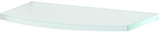 """Полка для ванной """"Ellux"""", 20 см, для ELE 032, цвет: матовое стекло. ELU 009"""