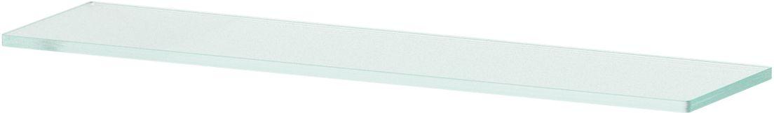 Полка для ванной Ellux, 50 см, для AVA 033, цвет: матовое стекло. ELU 016ELU 016Аксессуары торговой марки Ellux производятся на заводе ELLUX Gluck s.r.o., имеющем 20-летний опыт работы. Предприятие расположено в Злинском крае, исторически знаменитом своим промышленным потенциалом. Компоненты из всемирно известного богемского хрусталя выгодно дополняют серии аксессуаров. Широкий ассортимент, разнообразие форм, высочайшее качество исполнения и техническое?совершенство продукции отвечают самым высоким требованиям. Продукция завода Ellux представлена на российском рынке уже более 10 лет и за это время успела завоевать заслуженную популярность у покупателей, отдающих предпочтение дорогой и качественной продукции. 100% made in Czech Republic Весь цикл производства изделий осуществляется на территории Чешской республики. В производстве полок используется высококачественное матированное стекло марки Satinovo Mate Clear. Saint-Gobain Glass признанный мировой лидер в производстве высококачественного стекла, поэтому для производства стеклянных полок применяется...