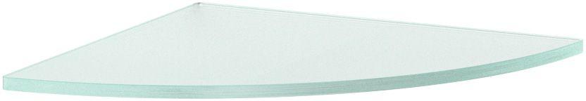 Полка для ванной Ellux, угловая, 26 см, цвет: матовое стекло. ELU 023ELU 023Аксессуары торговой марки Ellux производятся на заводе ELLUX Gluck s.r.o., имеющем 20-летний опыт работы. Предприятие расположено в Злинском крае, исторически знаменитом своим промышленным потенциалом. Компоненты из всемирно известного богемского хрусталя выгодно дополняют серии аксессуаров. Широкий ассортимент, разнообразие форм, высочайшее качество исполнения и техническое?совершенство продукции отвечают самым высоким требованиям. Продукция завода Ellux представлена на российском рынке уже более 10 лет и за это время успела завоевать заслуженную популярность у покупателей, отдающих предпочтение дорогой и качественной продукции. 100% made in Czech Republic Весь цикл производства изделий осуществляется на территории Чешской республики. В производстве полок используется высококачественное матированное стекло марки Satinovo Mate Clear. Saint-Gobain Glass признанный мировой лидер в производстве высококачественного стекла, поэтому для производства стеклянных полок применяется...