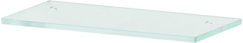Полка для ванной Ellux, с отверстиями, 30 см, цвет: матовое стекло. ELU 027ELU 027Аксессуары торговой марки Ellux производятся на заводе ELLUX Gluck s.r.o., имеющем 20-летний опыт работы. Предприятие расположено в Злинском крае, исторически знаменитом своим промышленным потенциалом. Компоненты из всемирно известного богемского хрусталя выгодно дополняют серии аксессуаров. Широкий ассортимент, разнообразие форм, высочайшее качество исполнения и техническое?совершенство продукции отвечают самым высоким требованиям. Продукция завода Ellux представлена на российском рынке уже более 10 лет и за это время успела завоевать заслуженную популярность у покупателей, отдающих предпочтение дорогой и качественной продукции. 100% made in Czech Republic Весь цикл производства изделий осуществляется на территории Чешской республики. В производстве полок используется высококачественное матированное стекло марки Satinovo Mate Clear. Saint-Gobain Glass признанный мировой лидер в производстве высококачественного стекла, поэтому для производства стеклянных полок применяется...