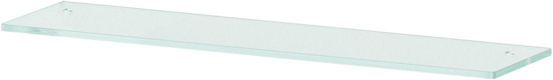 Полка для ванной Ellux, с отверстиями, 60 см, цвет: матовое стекло. ELU 030ELU 030Аксессуары торговой марки Ellux производятся на заводе ELLUX Gluck s.r.o., имеющем 20-летний опыт работы. Предприятие расположено в Злинском крае, исторически знаменитом своим промышленным потенциалом. Компоненты из всемирно известного богемского хрусталя выгодно дополняют серии аксессуаров. Широкий ассортимент, разнообразие форм, высочайшее качество исполнения и техническое?совершенство продукции отвечают самым высоким требованиям. Продукция завода Ellux представлена на российском рынке уже более 10 лет и за это время успела завоевать заслуженную популярность у покупателей, отдающих предпочтение дорогой и качественной продукции. 100% made in Czech Republic Весь цикл производства изделий осуществляется на территории Чешской республики. В производстве полок используется высококачественное матированное стекло марки Satinovo Mate Clear. Saint-Gobain Glass признанный мировой лидер в производстве высококачественного стекла, поэтому для производства стеклянных полок применяется...