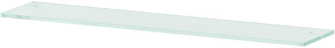 Полка для ванной Ellux, с отверстиями, 70 см, цвет: матовое стекло. ELU 031ELU 031Аксессуары торговой марки Ellux производятся на заводе ELLUX Gluck s.r.o., имеющем 20-летний опыт работы. Предприятие расположено в Злинском крае, исторически знаменитом своим промышленным потенциалом. Компоненты из всемирно известного богемского хрусталя выгодно дополняют серии аксессуаров. Широкий ассортимент, разнообразие форм, высочайшее качество исполнения и техническое?совершенство продукции отвечают самым высоким требованиям. Продукция завода Ellux представлена на российском рынке уже более 10 лет и за это время успела завоевать заслуженную популярность у покупателей, отдающих предпочтение дорогой и качественной продукции. 100% made in Czech Republic Весь цикл производства изделий осуществляется на территории Чешской республики. В производстве полок используется высококачественное матированное стекло марки Satinovo Mate Clear. Saint-Gobain Glass признанный мировой лидер в производстве высококачественного стекла, поэтому для производства стеклянных полок применяется...