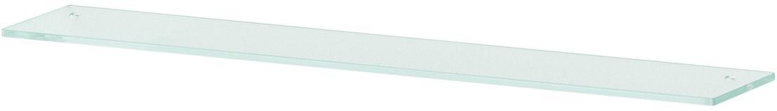 Полка для ванной Ellux, с отверстиями, 80 см, цвет: матовое стекло. ELU 032ELU 032Аксессуары торговой марки Ellux производятся на заводе ELLUX Gluck s.r.o., имеющем 20-летний опыт работы. Предприятие расположено в Злинском крае, исторически знаменитом своим промышленным потенциалом. Компоненты из всемирно известного богемского хрусталя выгодно дополняют серии аксессуаров. Широкий ассортимент, разнообразие форм, высочайшее качество исполнения и техническое?совершенство продукции отвечают самым высоким требованиям. Продукция завода Ellux представлена на российском рынке уже более 10 лет и за это время успела завоевать заслуженную популярность у покупателей, отдающих предпочтение дорогой и качественной продукции. 100% made in Czech Republic Весь цикл производства изделий осуществляется на территории Чешской республики. В производстве полок используется высококачественное матированное стекло марки Satinovo Mate Clear. Saint-Gobain Glass признанный мировой лидер в производстве высококачественного стекла, поэтому для производства стеклянных полок применяется...
