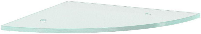 Полка для ванной Ellux, угловая, с отверстиями, 26 см, цвет: матовое стекло. ELU 033ELU 033Аксессуары торговой марки Ellux производятся на заводе ELLUX Gluck s.r.o., имеющем 20-летний опыт работы. Предприятие расположено в Злинском крае, исторически знаменитом своим промышленным потенциалом. Компоненты из всемирно известного богемского хрусталя выгодно дополняют серии аксессуаров. Широкий ассортимент, разнообразие форм, высочайшее качество исполнения и техническое?совершенство продукции отвечают самым высоким требованиям. Продукция завода Ellux представлена на российском рынке уже более 10 лет и за это время успела завоевать заслуженную популярность у покупателей, отдающих предпочтение дорогой и качественной продукции. 100% made in Czech Republic Весь цикл производства изделий осуществляется на территории Чешской республики. В производстве полок используется высококачественное матированное стекло марки Satinovo Mate Clear. Saint-Gobain Glass признанный мировой лидер в производстве высококачественного стекла, поэтому для производства стеклянных полок применяется...