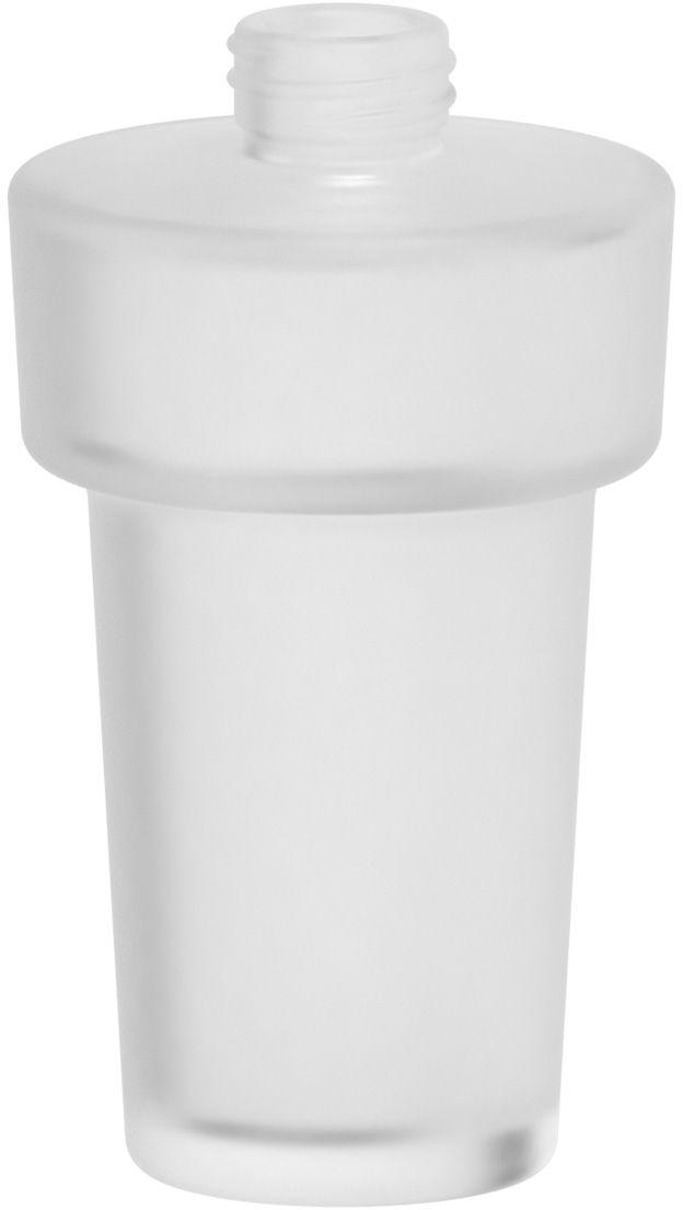 Емкость для жидкого мыла Ellux, цвет: матовый хрусталь. ELU 038ELU 038Аксессуары торговой марки Ellux производятся на заводе ELLUX Gluck s.r.o., имеющем 20-летний опыт работы. Предприятие расположено в Злинском крае, исторически знаменитом своим промышленным потенциалом. Компоненты из всемирно известного богемского хрусталя выгодно дополняют серии аксессуаров. Широкий ассортимент, разнообразие форм, высочайшее качество исполнения и техническое?совершенство продукции отвечают самым высоким требованиям. Продукция завода Ellux представлена на российском рынке уже более 10 лет и за это время успела завоевать заслуженную популярность у покупателей, отдающих предпочтение дорогой и качественной продукции. 100% made in Czech Republic Весь цикл производства изделий осуществляется на территории Чешской республики. Высококачественная латунь, используемая в производстве аксессуаров, позволяет добиваться идеального результата в готовом изделии. Варианты комплектации. Покупателям предоставляется возможность выбирать хрустальные компоненты (стакан,...