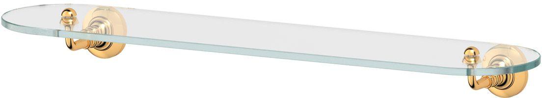 Полка для ванной 3SC Stilmar, 60 см, цвет: золото. STI 215STI 215Дизайн коллекций компании 3SC оригинален и узнаваем. Цель дизайнеров — находить равновесие между эстетикой и функциональностью. Это обдуманная четкая философия, которая проходит через все процессы производства мастерской региона Тоскана.Многолетний опыт, воплощение социальных и культурных традиций, а также постоянный поиск новых решений?– все это сконцентрировано в коллекциях 3SC. Особенное внимание уделяется декоративной отделке изделий, которая выполнена умелыми руками настоящих итальянских мастеров. Разнообразие стилей позволяет удовлетворить различные вкусы клиента от «классики» до «хай-тек», давая возможность гармонично сочетать аксессуары с зеркалами и освещением.