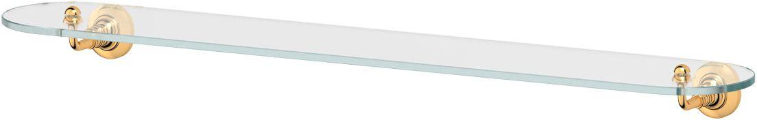 Полка для ванной 3SC Stilmar, 80 см, цвет: золото. STI 216STI 216Дизайн коллекций компании 3SC оригинален и узнаваем. Цель дизайнеров — находить равновесие между эстетикой и функциональностью. Это обдуманная четкая философия, которая проходит через все процессы производства мастерской региона Тоскана.Многолетний опыт, воплощение социальных и культурных традиций, а также постоянный поиск новых решений?– все это сконцентрировано в коллекциях 3SC. Особенное внимание уделяется декоративной отделке изделий, которая выполнена умелыми руками настоящих итальянских мастеров. Разнообразие стилей позволяет удовлетворить различные вкусы клиента от «классики» до «хай-тек», давая возможность гармонично сочетать аксессуары с зеркалами и освещением.