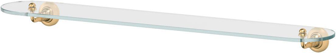 Полка для ванной 3SC Stilmar, 80 см, цвет: матовое золото. STI 316STI 316Дизайн коллекций компании 3SC оригинален и узнаваем. Цель дизайнеров — находить равновесие между эстетикой и функциональностью. Это обдуманная четкая философия, которая проходит через все процессы производства мастерской региона Тоскана.Многолетний опыт, воплощение социальных и культурных традиций, а также постоянный поиск новых решений?– все это сконцентрировано в коллекциях 3SC. Особенное внимание уделяется декоративной отделке изделий, которая выполнена умелыми руками настоящих итальянских мастеров. Разнообразие стилей позволяет удовлетворить различные вкусы клиента от «классики» до «хай-тек», давая возможность гармонично сочетать аксессуары с зеркалами и освещением.