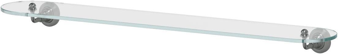 Полка для ванной 3SC Stilmar, 80 см, цвет: античное серебро. STI 416STI 416Дизайн коллекций компании 3SC оригинален и узнаваем. Цель дизайнеров — находить равновесие между эстетикой и функциональностью. Это обдуманная четкая философия, которая проходит через все процессы производства мастерской региона Тоскана.Многолетний опыт, воплощение социальных и культурных традиций, а также постоянный поиск новых решений?– все это сконцентрировано в коллекциях 3SC. Особенное внимание уделяется декоративной отделке изделий, которая выполнена умелыми руками настоящих итальянских мастеров. Разнообразие стилей позволяет удовлетворить различные вкусы клиента от «классики» до «хай-тек», давая возможность гармонично сочетать аксессуары с зеркалами и освещением.
