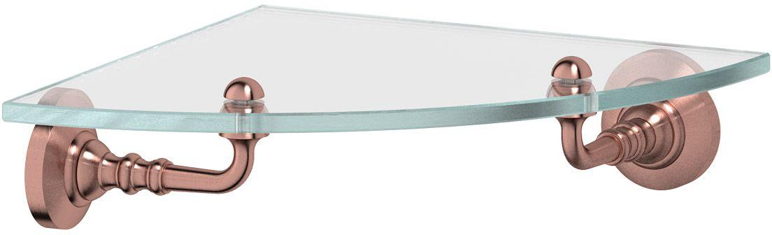 Полка для ванной 3SC Stilmar, цвет: античная медь. STI 618STI 618Дизайн коллекций компании 3SC оригинален и узнаваем. Цель дизайнеров — находить равновесие между эстетикой и функциональностью. Это обдуманная четкая философия, которая проходит через все процессы производства мастерской региона Тоскана.Многолетний опыт, воплощение социальных и культурных традиций, а также постоянный поиск новых решений?– все это сконцентрировано в коллекциях 3SC. Особенное внимание уделяется декоративной отделке изделий, которая выполнена умелыми руками настоящих итальянских мастеров. Разнообразие стилей позволяет удовлетворить различные вкусы клиента от «классики» до «хай-тек», давая возможность гармонично сочетать аксессуары с зеркалами и освещением.