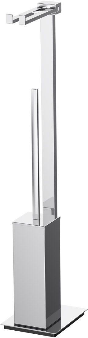 Стойка комбинированная для туалета Lineag Tiffany Un, цвет: хром. TIF 021TIF 021В течение 20 лет компания Lineag разрабатывает и производит эксклюзивные аксессуары для ванной комнаты, используя современные технологии и высококачественные материалы. Каждый продукт Lineag произведен исключительно в Италии. Изысканный дизайн аксессуаров Lineag создает уникальную атмосферу уюта и роскоши в вашей ванной.