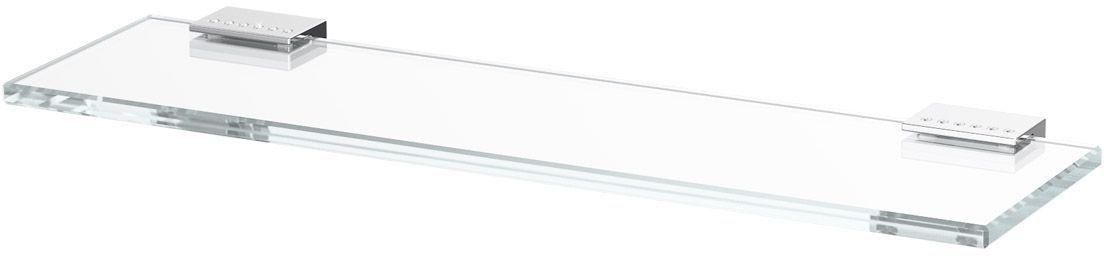 Полка для ванной Lineag Tiffany Lux, 40 см, цвет: хром. TIF 910TIF 910В течение 20 лет компания Lineag разрабатывает и производит эксклюзивные аксессуары для ванной комнаты, используя современные технологии и высококачественные материалы. Каждый продукт Lineag произведен исключительно в Италии. Изысканный дизайн аксессуаров Lineag создает уникальную атмосферу уюта и роскоши в вашей ванной.