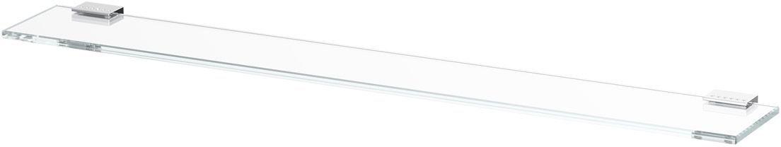 Полка для ванной Lineag Tiffany Lux, 80 см, цвет: хром. TIF 912TIF 912В течение 20 лет компания Lineag разрабатывает и производит эксклюзивные аксессуары для ванной комнаты, используя современные технологии и высококачественные материалы. Каждый продукт Lineag произведен исключительно в Италии. Изысканный дизайн аксессуаров Lineag создает уникальную атмосферу уюта и роскоши в вашей ванной.