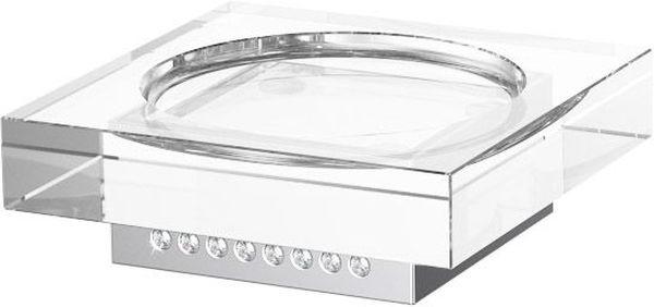 Мыльница для ванной Lineag Tiffany Lux Un, настольная, цвет: хром. TIF 917TIF 917В течение 20 лет компания Lineag разрабатывает и производит эксклюзивные аксессуары для ванной комнаты, используя современные технологии и высококачественные материалы. Каждый продукт Lineag произведен исключительно в Италии. Изысканный дизайн аксессуаров Lineag создает уникальную атмосферу уюта и роскоши в вашей ванной.
