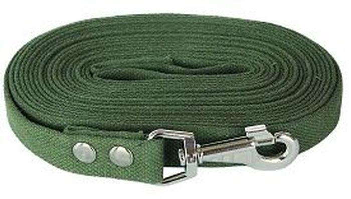 Поводок для собак Adel-Dog, 10 м990847Поводок для собак Брезент 10м