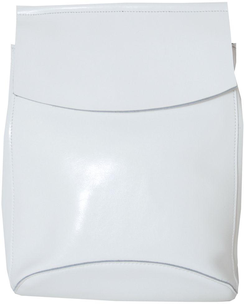 Рюкзак женский Flioraj, цвет: белый. 16081608Рюкзак Flioraj выполнен из натуральной лаковой кожи. Изделие оснащено ручкой для переноски и удобными лямками, длину которых можно изменять с помощью пряжек. На тыльной стороне расположено вшитый карман на молнии. Изделие закрывается клапаном на кнопку. Внутри расположено главное отделение на молнии, разделённое карманом-средником на молнии. Также внутри расположен небольшой вшитый карман на молнии и два открытых накладных кармана для телефона и мелочей.