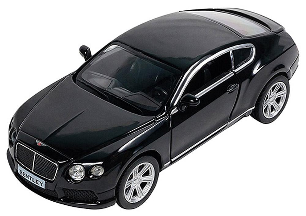 Pit Stop Машинка инерционная Bentley Continental GT V8 цвет черный PS-554021-BL