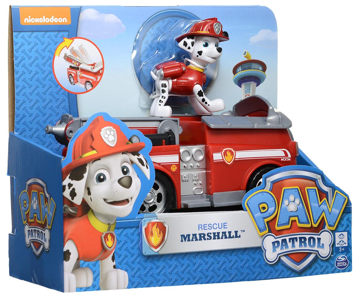 Paw Patrol Игровой набор Машинка спасателя и щенок Marshall 16601_20064339