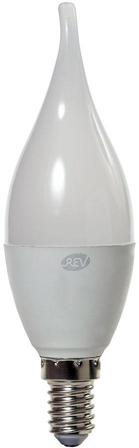 Лампа светодиодная REV, теплый свет, цоколь Е14, 5W. 32276 432276 4Энергосберегающая светодиодная лампа в форме свеча на ветру теплого свечения. Потребляемая мощность 5Вт. Интенсивность свечения аналогична обычной лампе накаливания мощностью 40Вт. Цоколь Е14. Срок службы 30000 час. Световой поток 360Лм, цветовая температура 2700К. Гарантия 24 месяца.