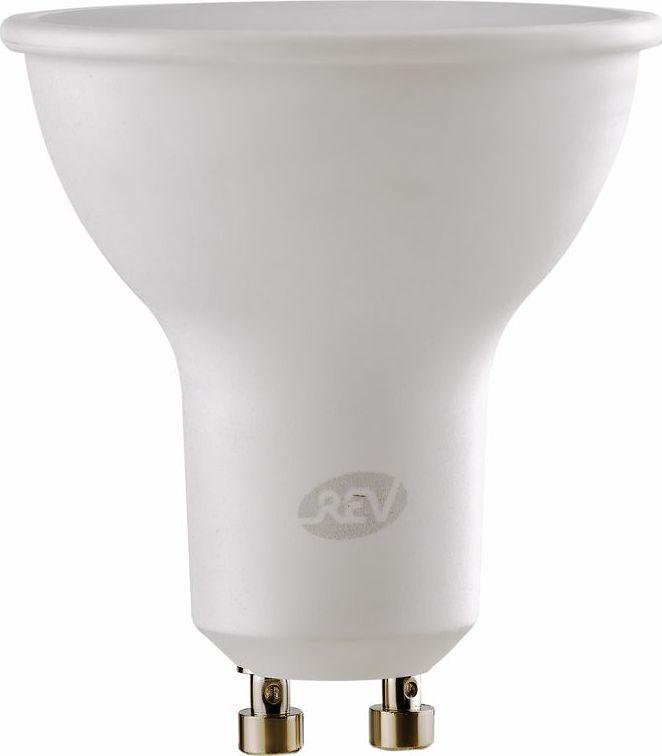 Лампа светодиодная REV, теплый свет, цоколь GU10, 3W32326 6Энергосберегающая светодиодная лампа в форме PAR16 теплого свечения. Потребляемая мощность 3Вт. Интенсивность свечения аналогична обычной лампе накаливания мощностью 25Вт. Цоколь GU10. Срок службы 30000 час. Световой поток 225Лм, цветовая температура 3000К. Гарантия 24 месяца.