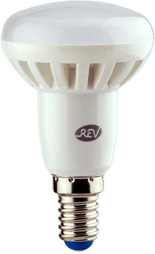 Лампа светодиодная REV, теплый свет, цоколь E14, 5W. 32332 732332 7Энергосберегающая светодиодная лампа в форме R50 теплого свечения. Потребляемая мощность 5Вт. Интенсивность свечения аналогична обычной лампе накаливания мощностью 40Вт. Цоколь E14. Срок службы 30000 час. Световой поток 400Лм, цветовая температура 2700К. Гарантия 24 месяца.